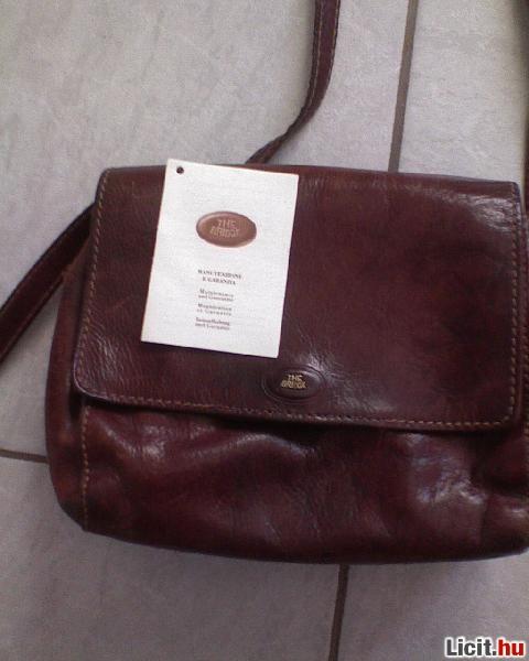 Licit.hu  THE BRIDGE Barna bőr váll táska Az ingyenes aukciós ... 5a970fe490