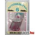 Eladó Autóskártya 6 Mercedes (Retro) Bontatlan még Magyar gyártású :) kb1995