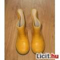 sárga gumi csizma,méret:22