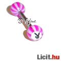 Eladó Szexi egyedi lila PLAYBOY nyelv piercing 16 mm - Vadonatúj!