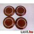 Barna kerámia csésze alj 4 db