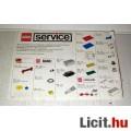 LEGO Alkatrész Katalógus 1990 Service (921392-A.) (3kép:) Gyűjteménybe