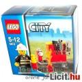 Eladó LEGO City / Város 5613 Tűzoltó minifigura láng és tűzoltó eszköz kiegészítőkkel - Új, bontatlan