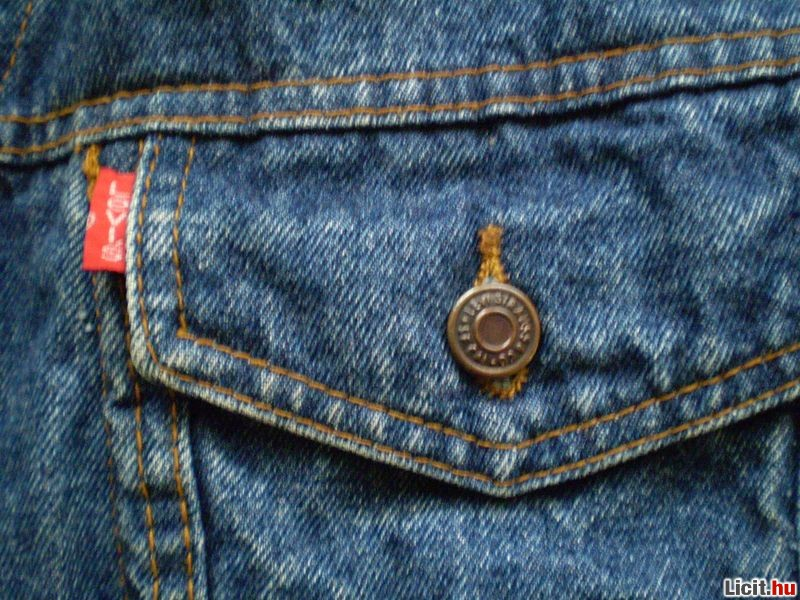 fdaf682930 Licit.hu Levis 501 farmer kabát leárazva (eredeti) Az ingyenes ...
