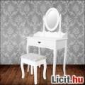 Sminkasztal fésülködő asztal ülőkével  Új
