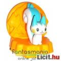 Eladó Pokemon figura - 4cm-es Pachirisu kék-fehér mókus Pokémon / Pokemon Go figura talapzattal - Burger K
