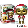 Eladó 10cmes Funko POP figura Star Wars C3PO droid karácsonyi Santa / Mikulás ruhában - Csillagok Háborúja