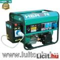 Eladó benzinmotoros áramfejlesztő + HAE-1 indító automatika, max 6500 VA, eg