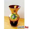 Eladó Cseh festett aranyozott váza.