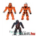 Eladó Halo figura - 3db minifigura - Orange Spartan Hayabusa & Spartan vs Covenant Brute - Mega Bloks