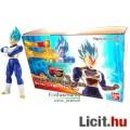 Eladó 16cm-es Dragon Ball Z figura - Vegeta Super Saiyan God mozgatható figura építő modell szett kékhajú