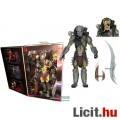 Eladó 18-21cm-es Predator figura - Scarface Predator figura cserélhető maszkos és maszktalan fejjel - Ulti