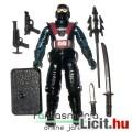 Eladó GI Joe figura - Shadow Viper V1 / 2000s Astro Viper Cobra katona figura ninja karddal, felszerelésse