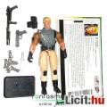 Eladó GI Joe figura - Duke Sergeant / Őrmester katona figura felszereléssel, filecarddal és talppal - Hasb