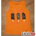 Eladó cuki narancs fagyis trikó,méret:104