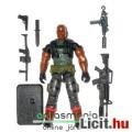 Eladó GI Joe figura - Roadblock V15 katona figura / Heavy Assault Squad Toys R Us exclusive gépfegyverrel,