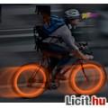 Eladó Holdacska, küllőlámpa biciklire, motorra, Piros