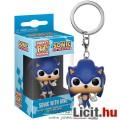 Eladó 3cmes mini Sega Sonic figura Funko Pop kulcstartó - Klasszikus Gmaer / Vidojáték nagyfejű karikatúra