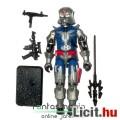 Eladó GI Joe figura - Cobra Commander V10 figura Uzi-val, felszereléssel és talppal - vintage testű Hasbro