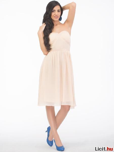 b20c62448e Licit.hu Új gyönyörű alkalmi ruha, nagyon csinos!Akció! Ekrü színben ...