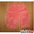 Eladó tündéri pink  bársony térdnaci,méret:74/80
