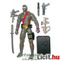 Eladó GI Joe figura - Iron Grenadier V3 Cobra ninja kommandós katona figura karddal, géppisztollyal, felsz