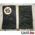 régi zsebkendőtartó selyem goblein rózsával