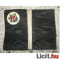 Eladó régi zsebkendőtartó selyem goblein rózsával