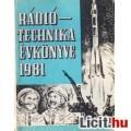Eladó Rádiótechnika Évkönyve 1981