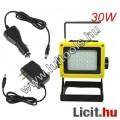 Eladó Akkumulátoros LED reflektor 30w