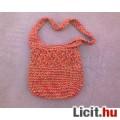 Eladó *Narancssárga fonott nyári váll táska