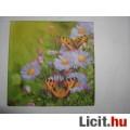 Eladó szalvéta - virágok és lepkék