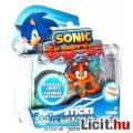 Eladó Sega Sonic figura - 8cm-es Sticks játék figura mozgatható végtagokkal - Sonic a Sündisznó - Sonic Bo
