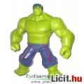 Eladó 15cmes Avegners / Bosszúállók Hulk figura - mozgatható Marvel szuperhős játék figura, csom. nélkül