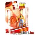 Eladó Toy Story - Woody Sheriff / Vudi Seriff játék 12cmes figura lasszóval és kalappal - Új, Mattel