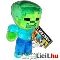 Eladó 16-20cmes Minecraft plüss - Zombi / Zombie plüss játék figura - Új, címkés eredeti széria