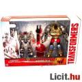 Eladó Transformers figura - Grimlock és Optimus Prime - 2db átalakítható robot figura fegyverekkel