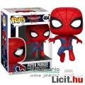 Eladó 10cmes Funko POP figura Pókember figura Peter Parker megjelenés - Marvel Into The Spider-Verse / Irá