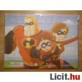 Hihetetlen család puzzle kirakó 70 darabos - Vadonatúj!