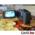 Eladó JVC GZ-HM200BU jelzésű HD digitális kamera 2 kártyás - FoxPost 700