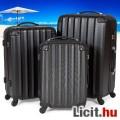 Eladó Uj utazótáska bőrönd 3 db-os fekete