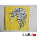 szalvéta - leopárd