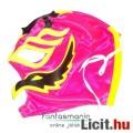 Eladó Pankráció maszk - Rey Mysterio rózsaszín-sárga felvehető Pankrátor Maszk - Lucha / Luchardor mexikói