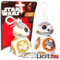 Eladó Star Wars plüss figura - 9cmes BB-8 / BB8 beszélő mini plüss játék droid figura - Új Csillagok Hábor