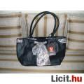 Eladó fekete műbőr táska (új)