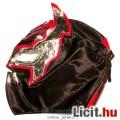 Eladó felvehető Pankráció / Pankrátor Maszk - fekete Sin Cara maszk - szövetből, fűzős rögzítéssel