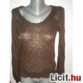 Csokibarna H&M moher női felső,méret: 36