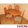 Étkezőasztal 4 székkel eladó