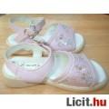 Álomszép rózsaszín gyöngyös pillangós NEXT szandál 24-es bth: 15 cm