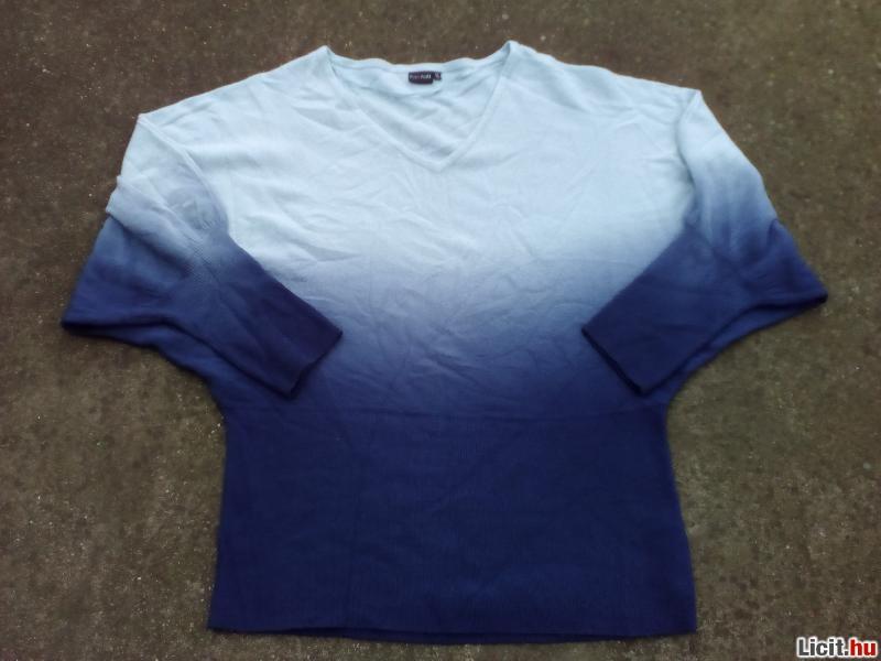 Licit.hu  BODYFLIRT Kék színátmenetes kötött pulóver 44 46-os Az ... c7c04a7684